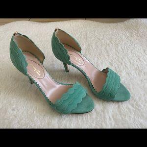 Sarah Jessica Parker SJP high heels
